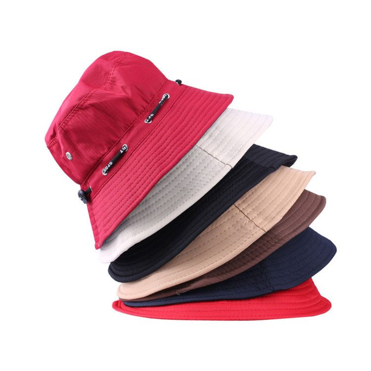 17361f62 Promotional custom colorful plain mexico cotton twill foldable bucket hat
