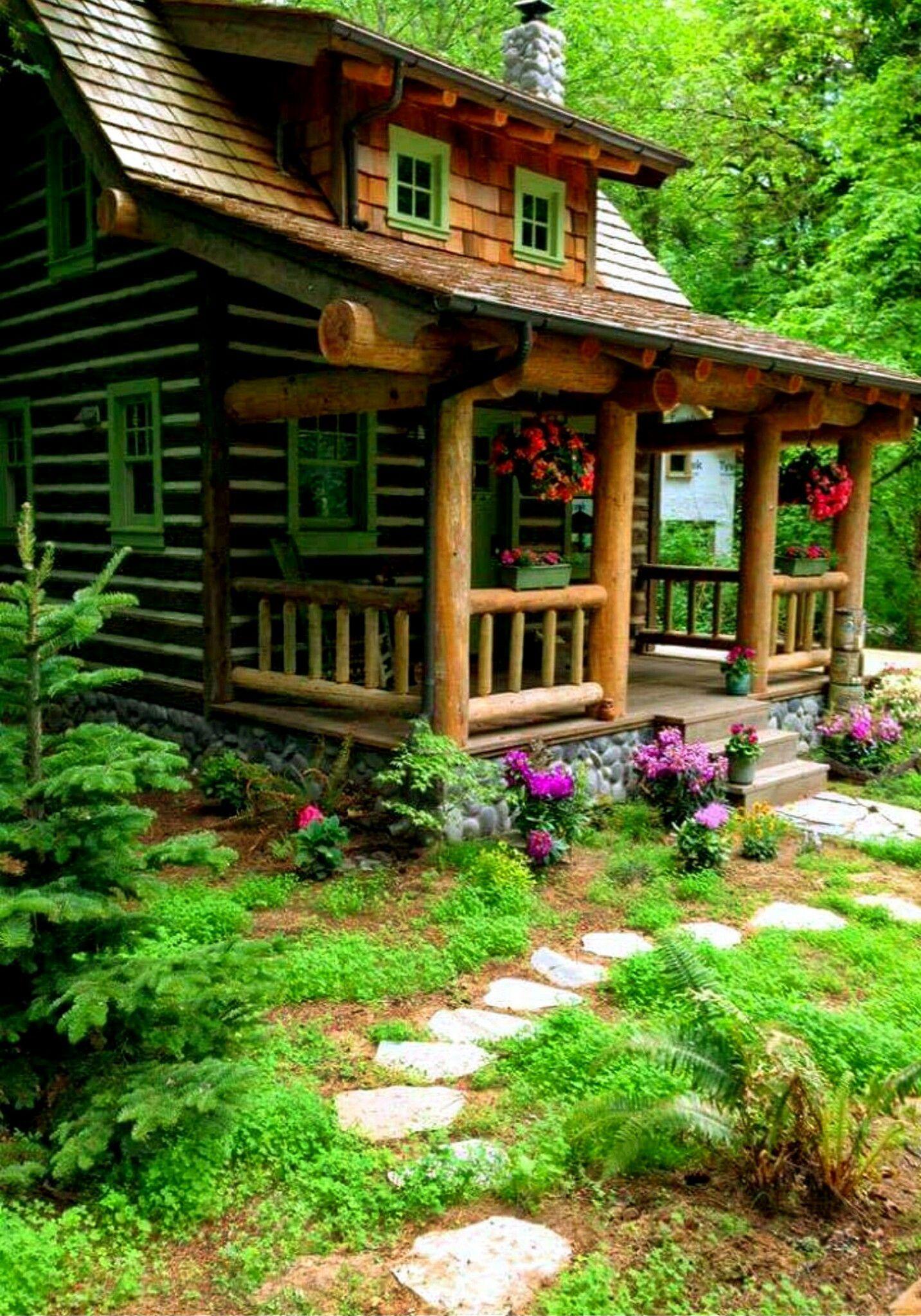 Pin de marisa 123 en casitas pintorescas casas estilo - Casas de madera bonitas ...
