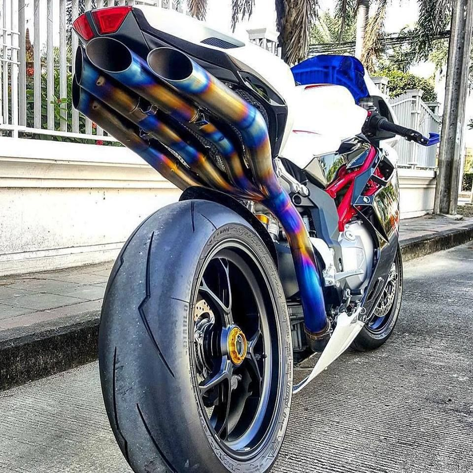 Custom Ducati Exhaust Fabrication