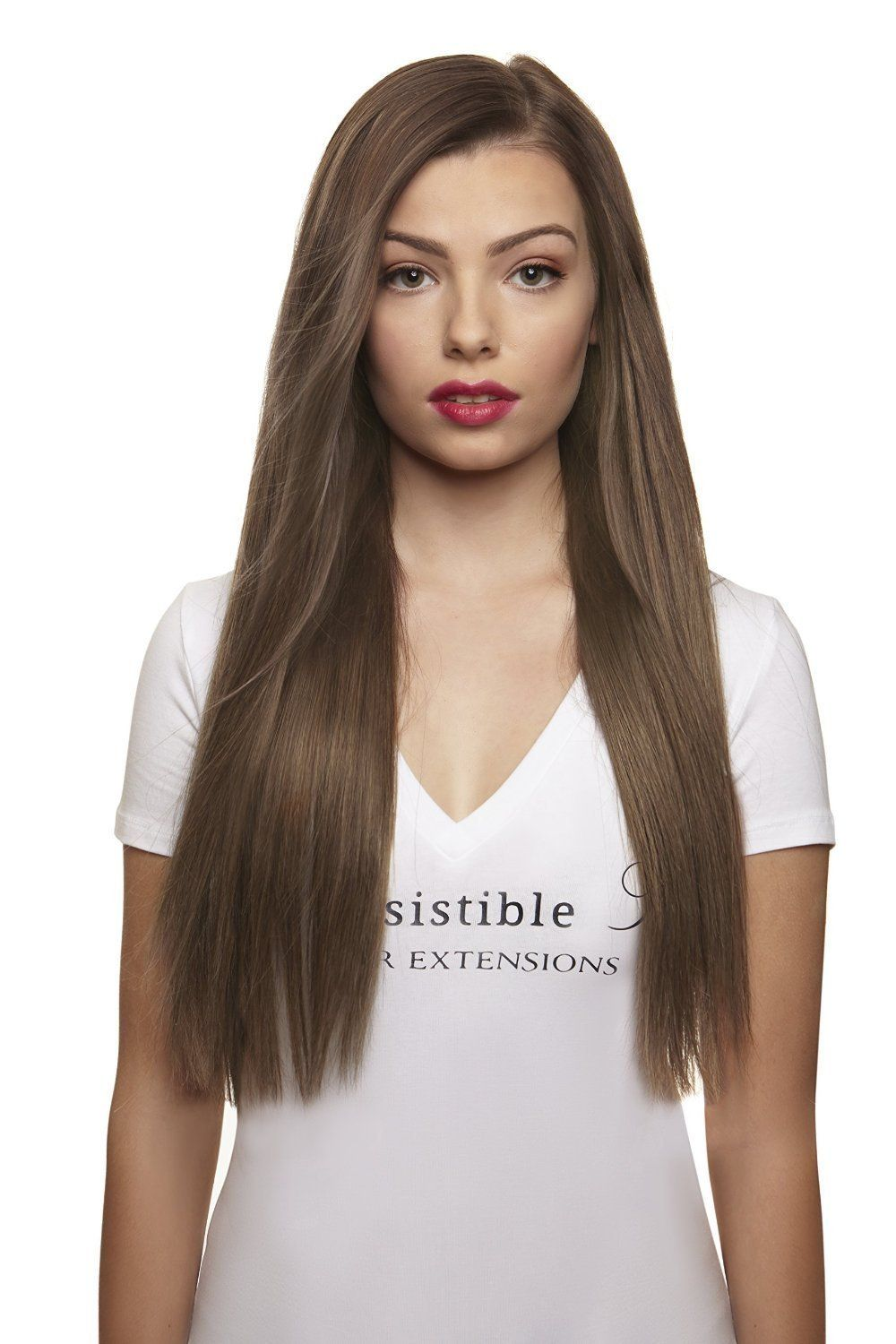 Irresistible Me Clip In Hair Extensions Ash Blonde Color 10