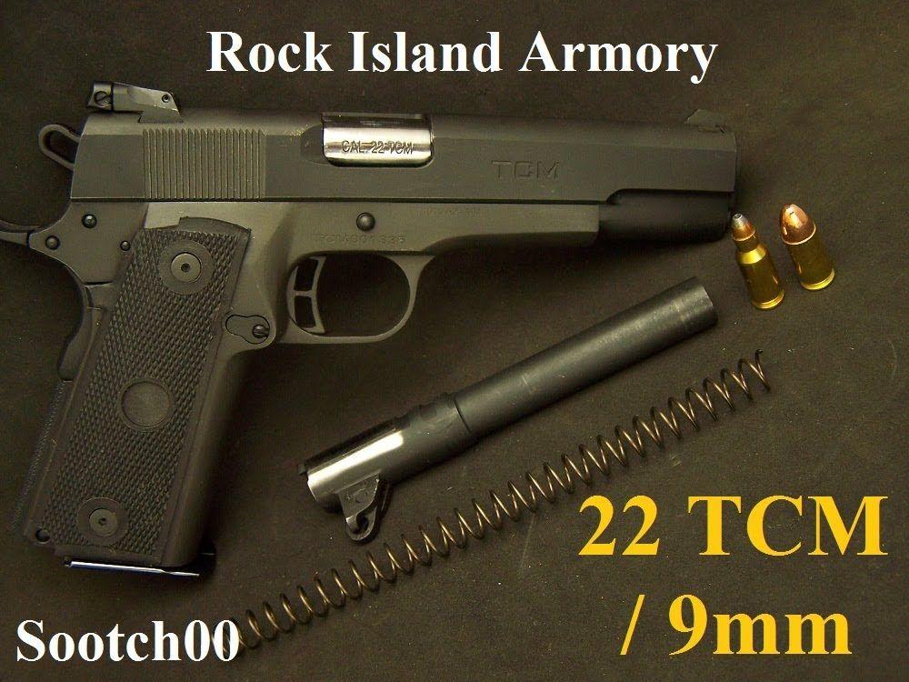Rock Island Armory 22 TCM Micromag 1911 Pistol (+playlist
