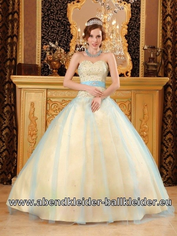 Beige Sissi Kleid Weites Abendkleid Ballkleid in Creme   Anastasia ...