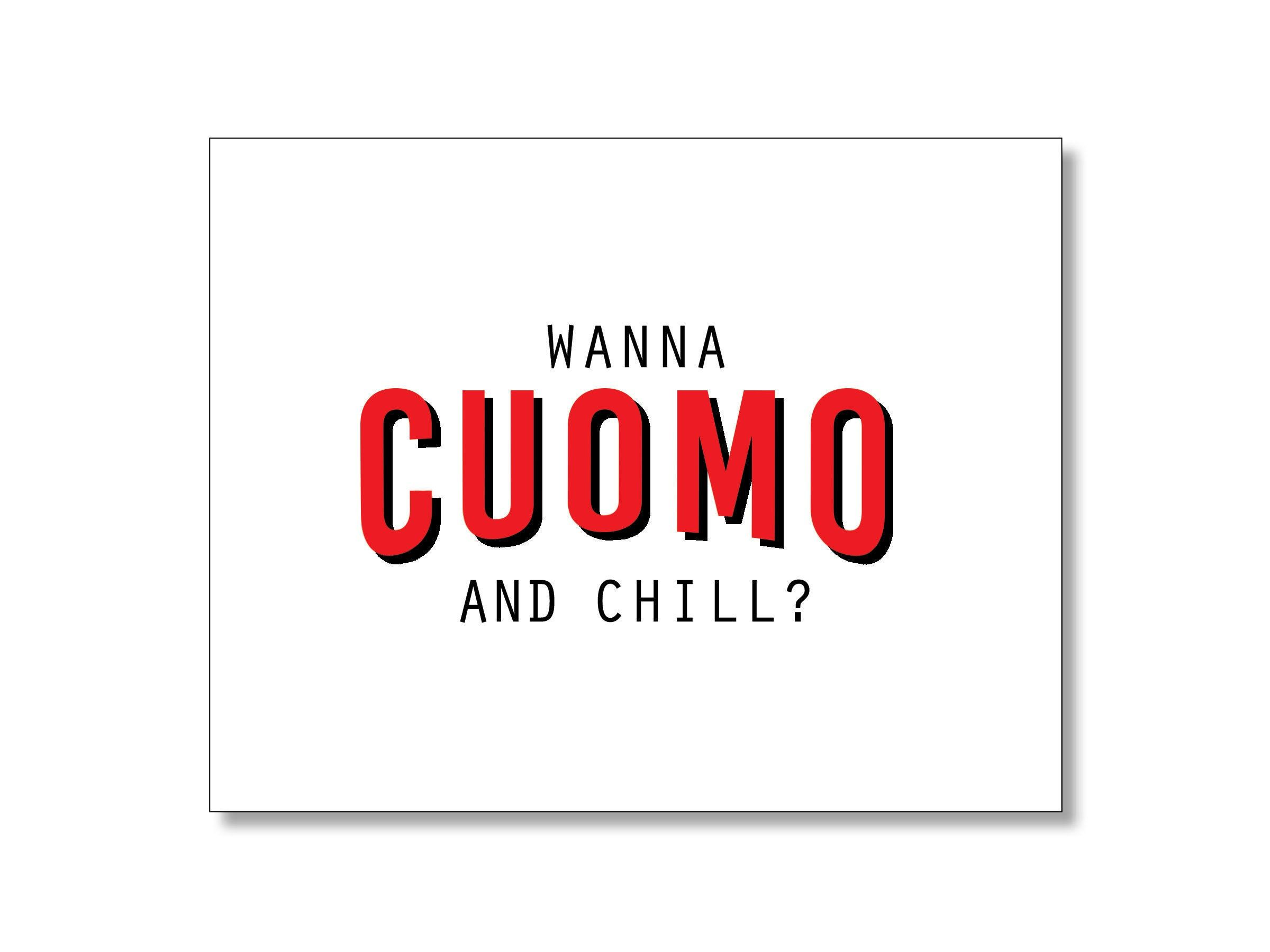 Governor Cuomo Card Social Distancing Card Andrew Cuomo Card Etsy In 2020 Custom Graphic Design Printed Envelopes Cards