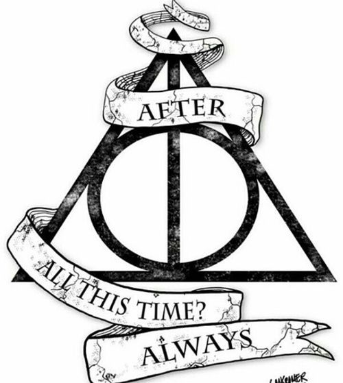 Harry Potter Always With Deathly Hallows