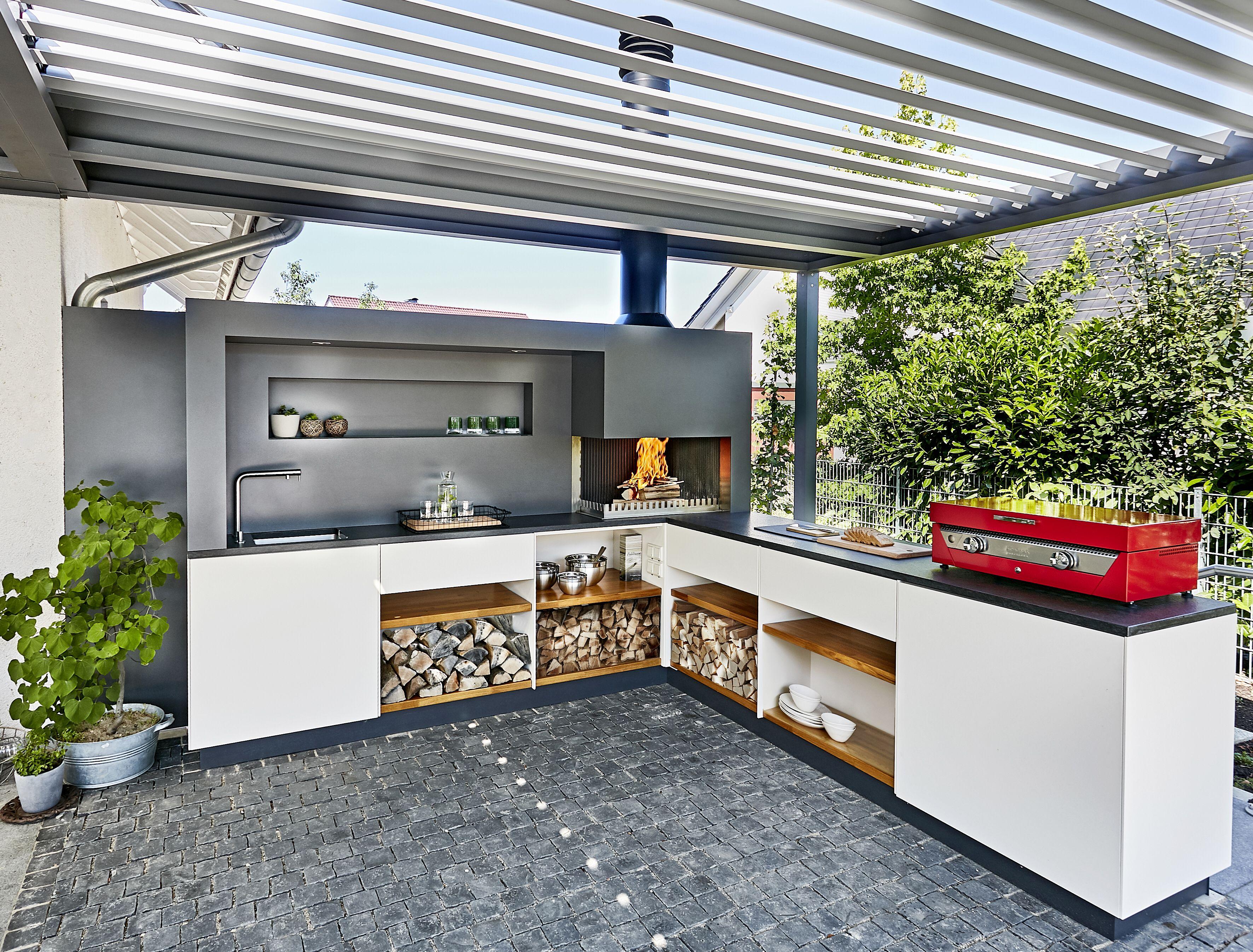Pin Von Nicole Wohlhuter Auf Draussen In 2020 Garten Kuche Hinterhof Designs Outdoor Kuche
