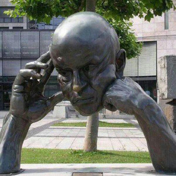 Bronze sculpture somewhere in Germany. Artist?