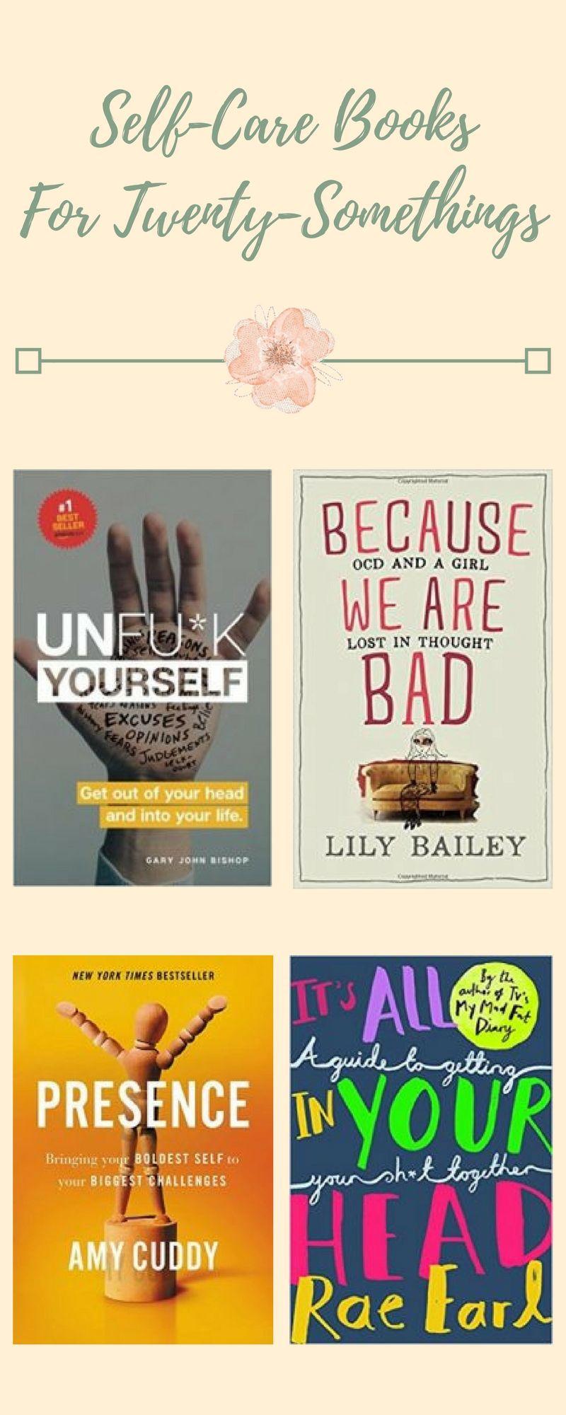 SelfCare Books for TwentySomethings How to better
