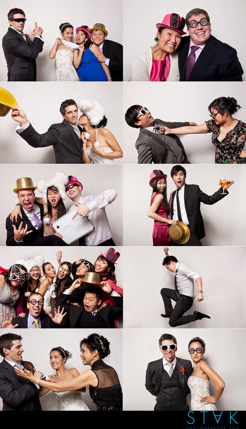 Our STAK-Booth highlights from Victoria + Jonathan's #Wedding! www.getstak.com