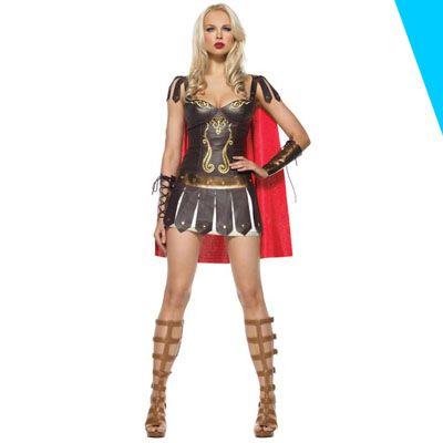 disfraz mujer gladiadora