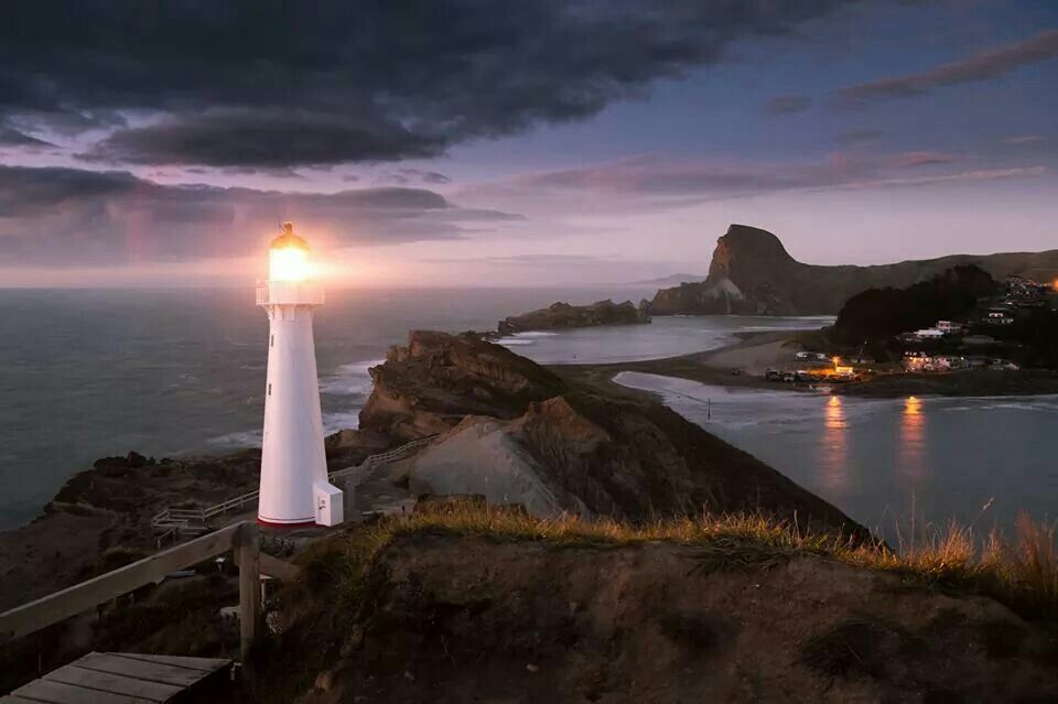 Castlepoint, New Zealand.
