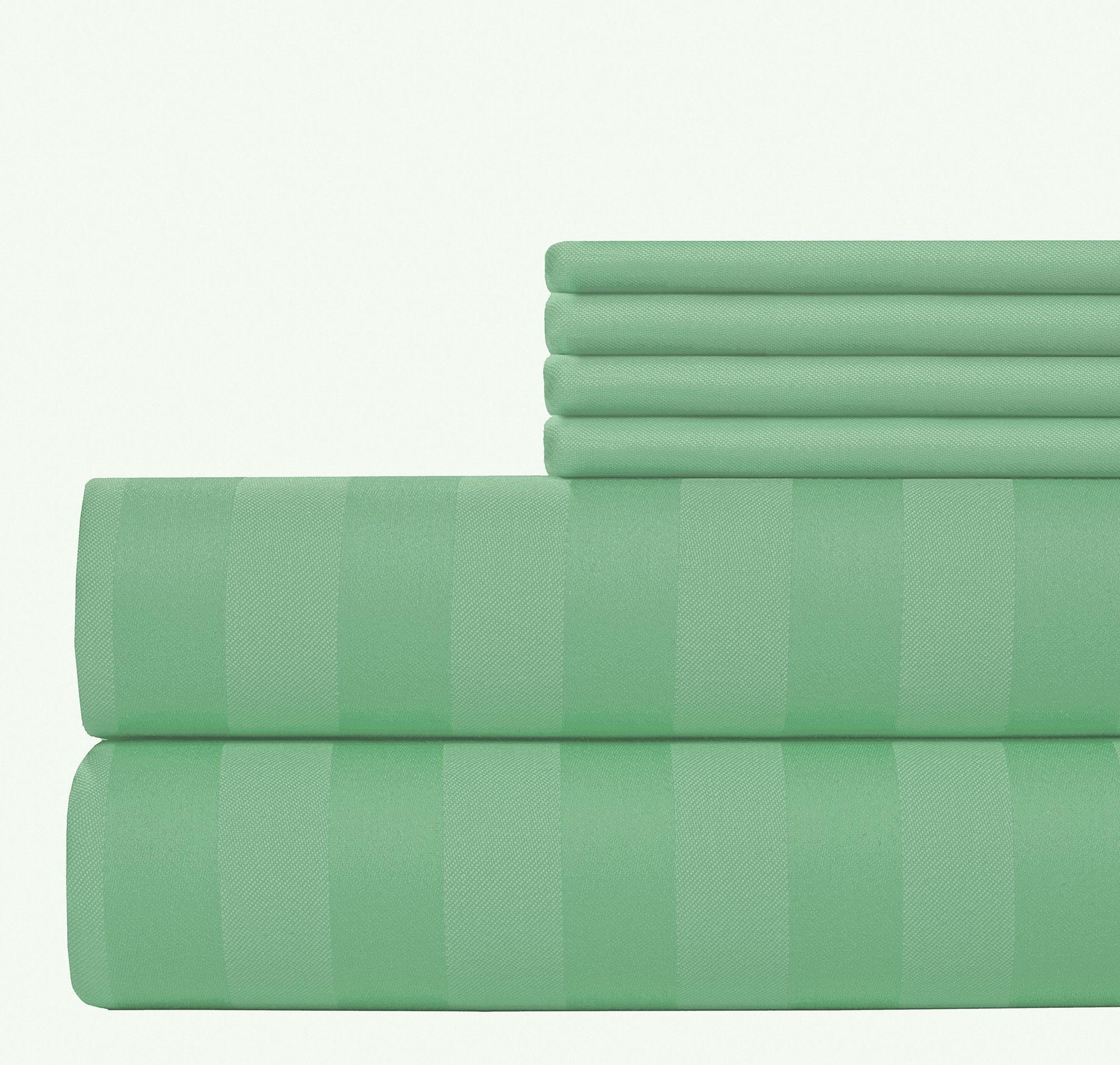 piece thread count egyptian quality cotton sheet set
