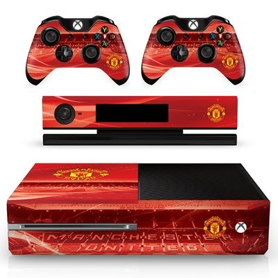 Manchester United Xbox One Console And Controller Skin Set Sports Online Shopping Xbox One Console Xbox One Manchester United