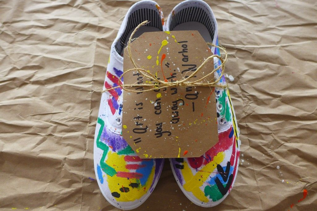 Quotable kicks, a super easy gift to make in an afternoon.