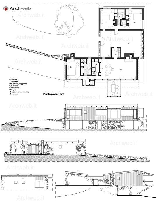 Stillman House Iii Dwg Drawings Marcel Breuer Architettura