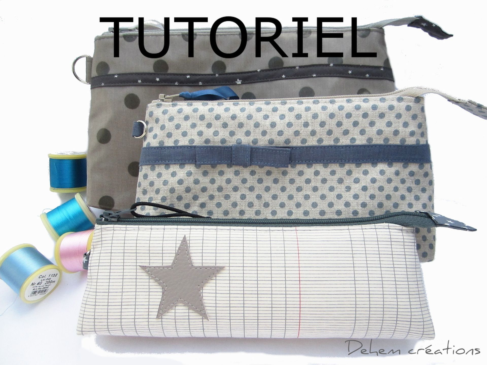 Tutoriel pdf trousse lilly trousse couture ou maquillage for Couture trousse