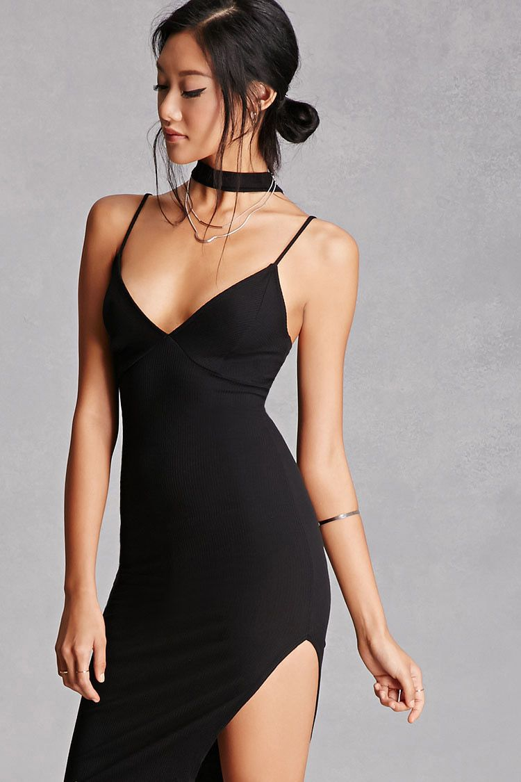 Choker neck cami dress wishlist pinterest choker neckline and