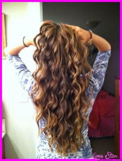 Beach Wave Perms For Long Hair Long Hair Perm Long Thin Hair Spiral Perm