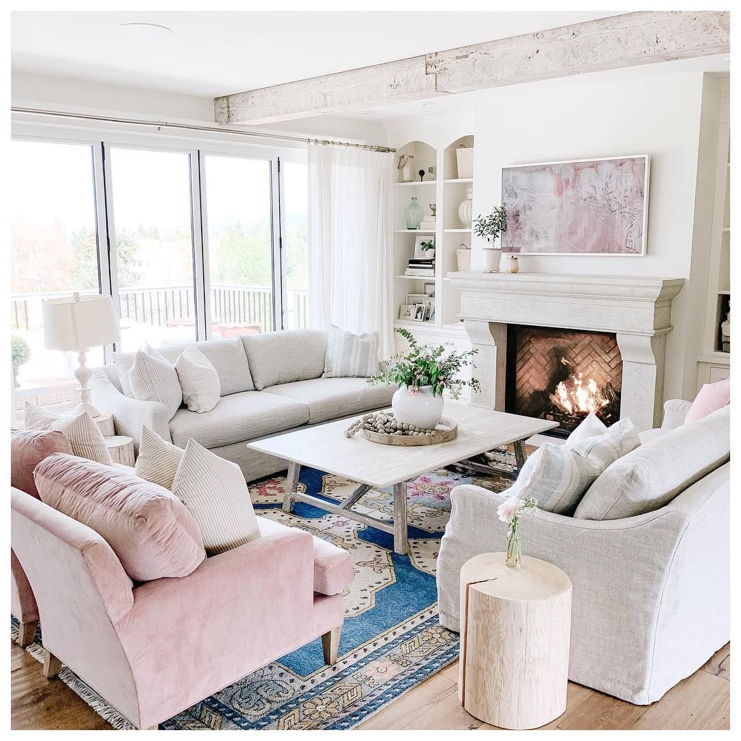 """Jillian Harris on Instagram: """"The sofa debacle has ended! Lol whew! About 6 months ago I donated our sofas for a custom sectional, only to realize it was TOO much couch…"""""""
