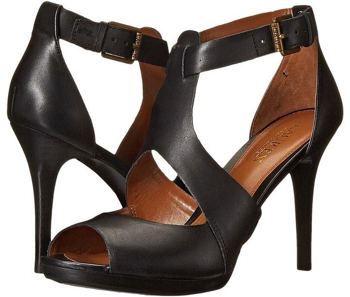 8bf2f7635ed LAUREN by Ralph Lauren Beth | High heels♥ | Heels, Peep toe shoes ...