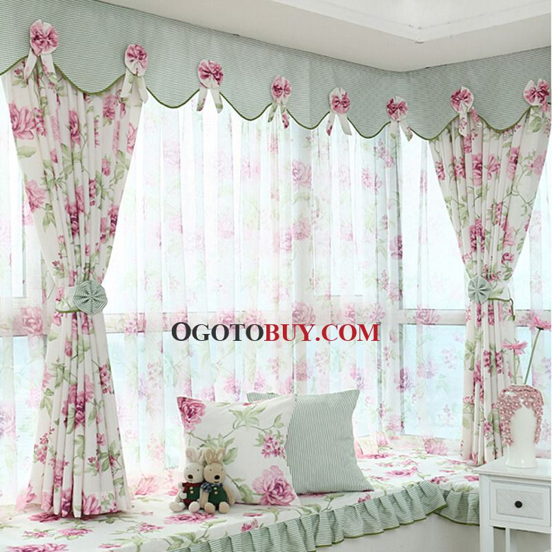 Awesome Bay Window Valance Patterns