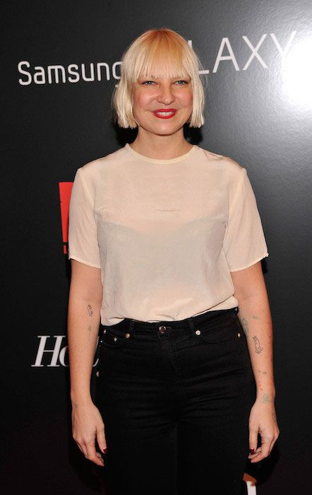 Sia Furler at Django Unchained New York Premiere....