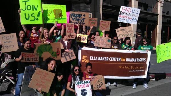 The Ella Baker Center readies for the Nov. 2nd Oakland General Strike