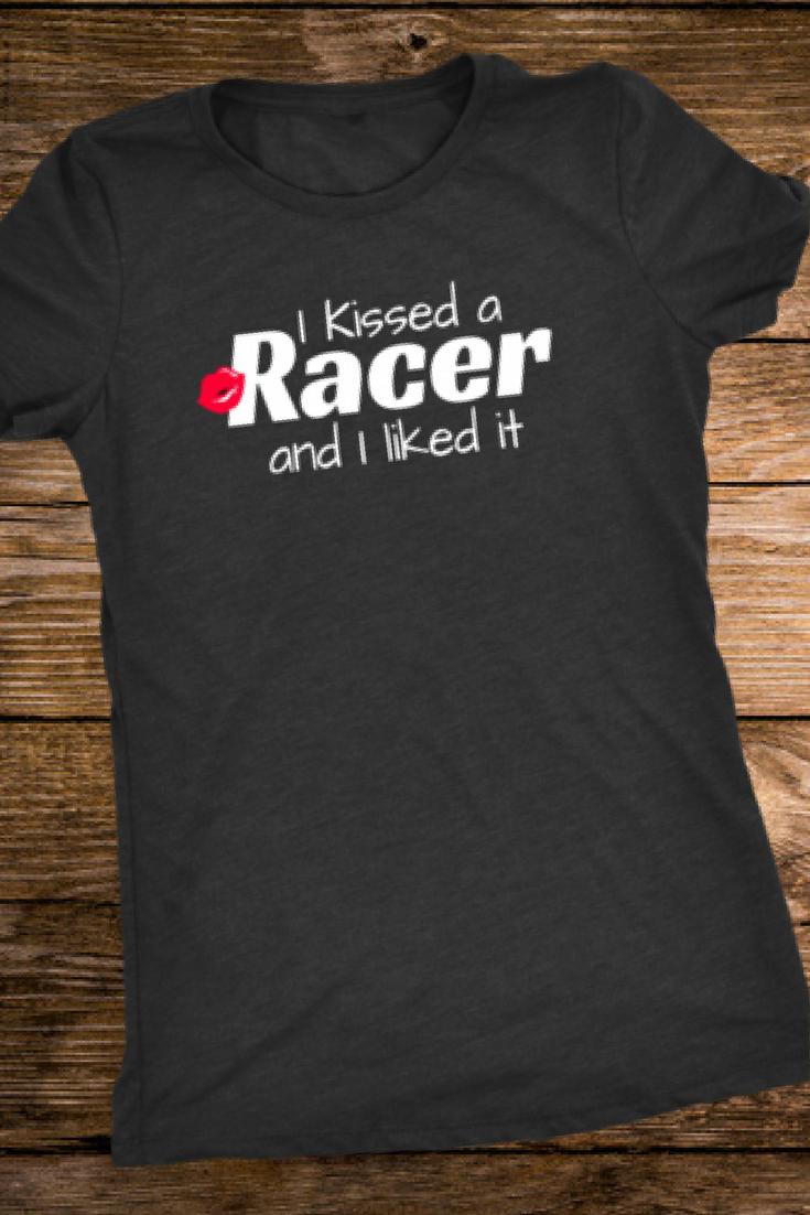 5e1c57f4 Racing shirts for Women, Race Wife Shirts, Race Girlfriend Shirts, Dirt  Track Racing shirts, I Kissed a Racer, Race Collection, Dirt Racing T-shirts  Racing ...