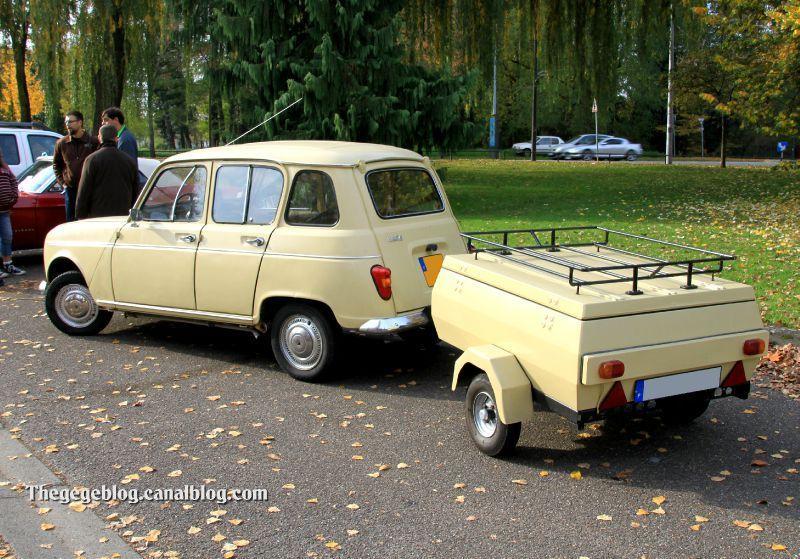 Renault 4 + remorque (1968-1974)(Retrorencard novembre 2011) 02