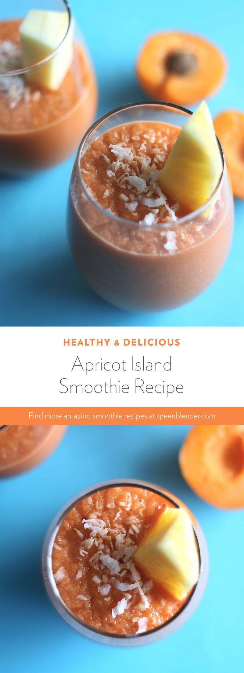 Apricot Island | Smoothie recipes, Smoothies and Juice