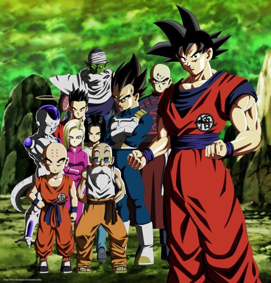 Los Guerreros Z Del Universo 7 Personajes De Dragon Ball Personajes De Goku Dragones