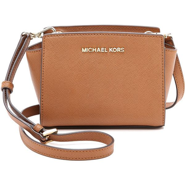 530daca3710497 MICHAEL Michael Kors Selma Mini Messenger Bag (€165) ❤ liked on Polyvore  featuring bags, messenger bags, purses, Ñ ÑƒÐ¼ÐºÐ¸, bolsos, luggage,  courier bag, ...