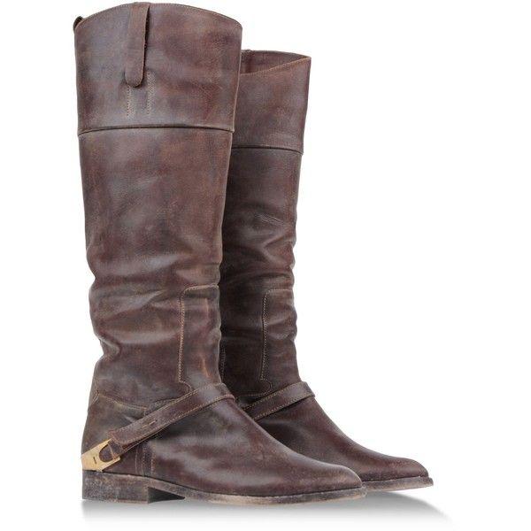 GOLDEN GOOSE Tall boots | Boots, Dark