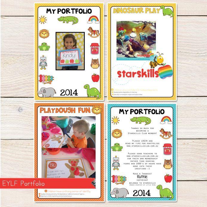 child portfolios and journals in childcare