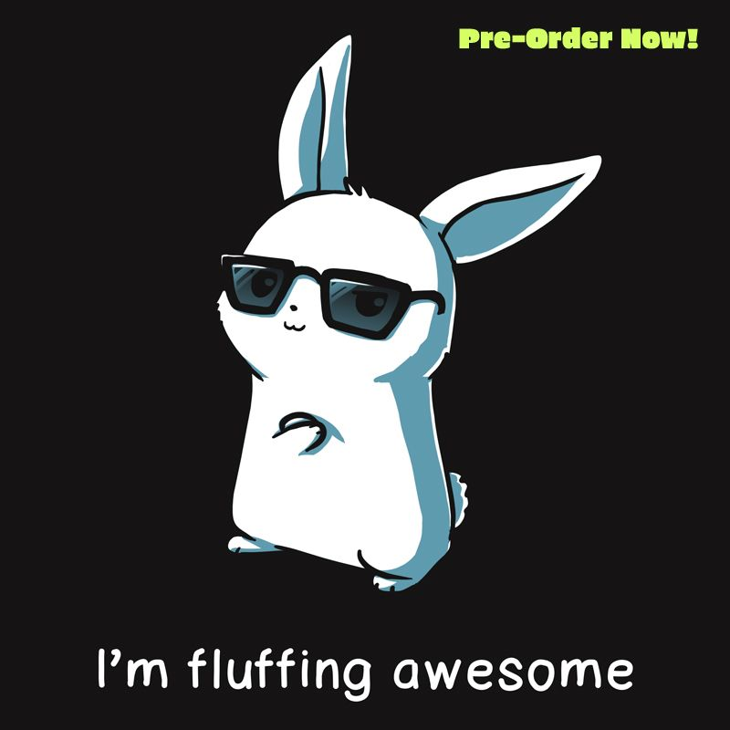Photo of I'm fluffing awesome