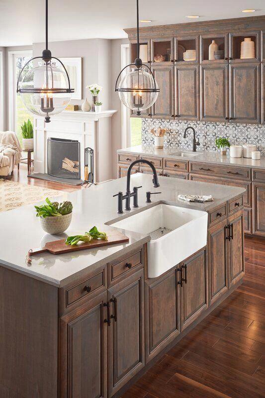 """Cerana 33"""" L X 19"""" W Farmhouse Kitchen Sink"""