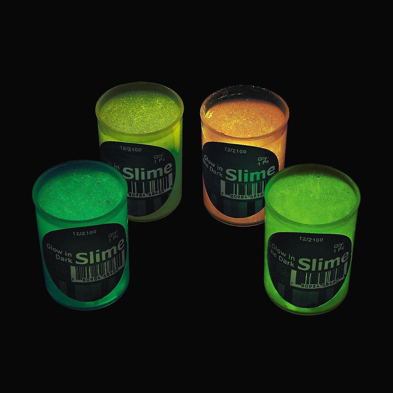 Glow-in-the-Dark Slime Slime, Mad scientist party and Mad scientists - glow in the dark halloween decorations