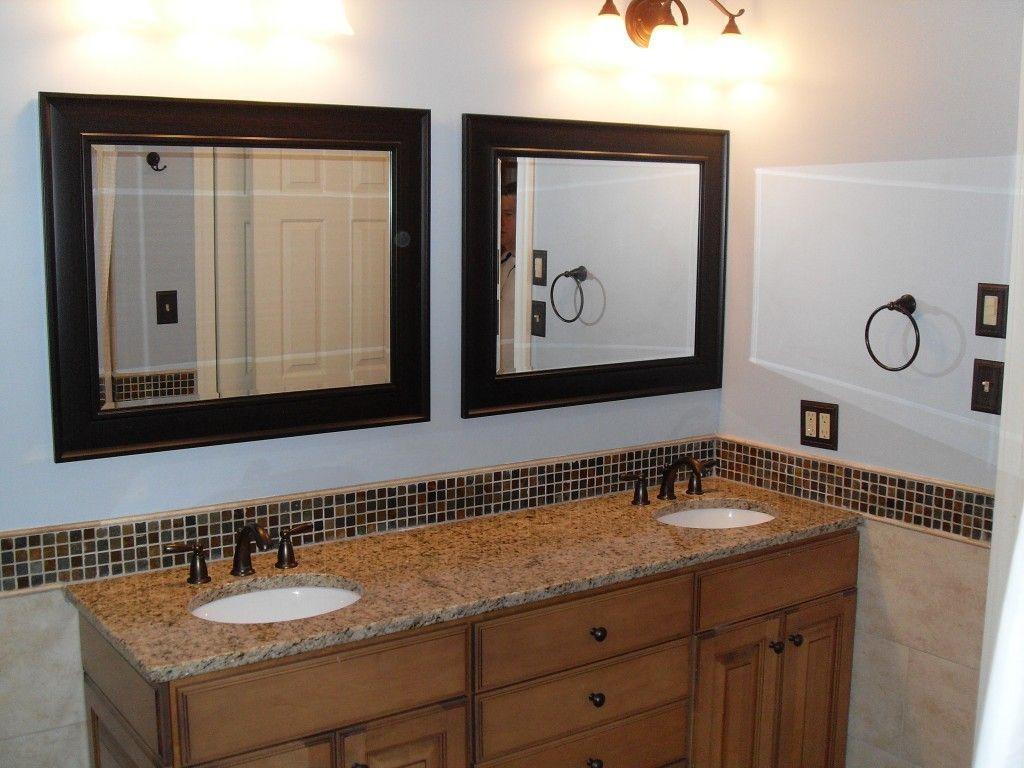 menards bathroom mirrors decor