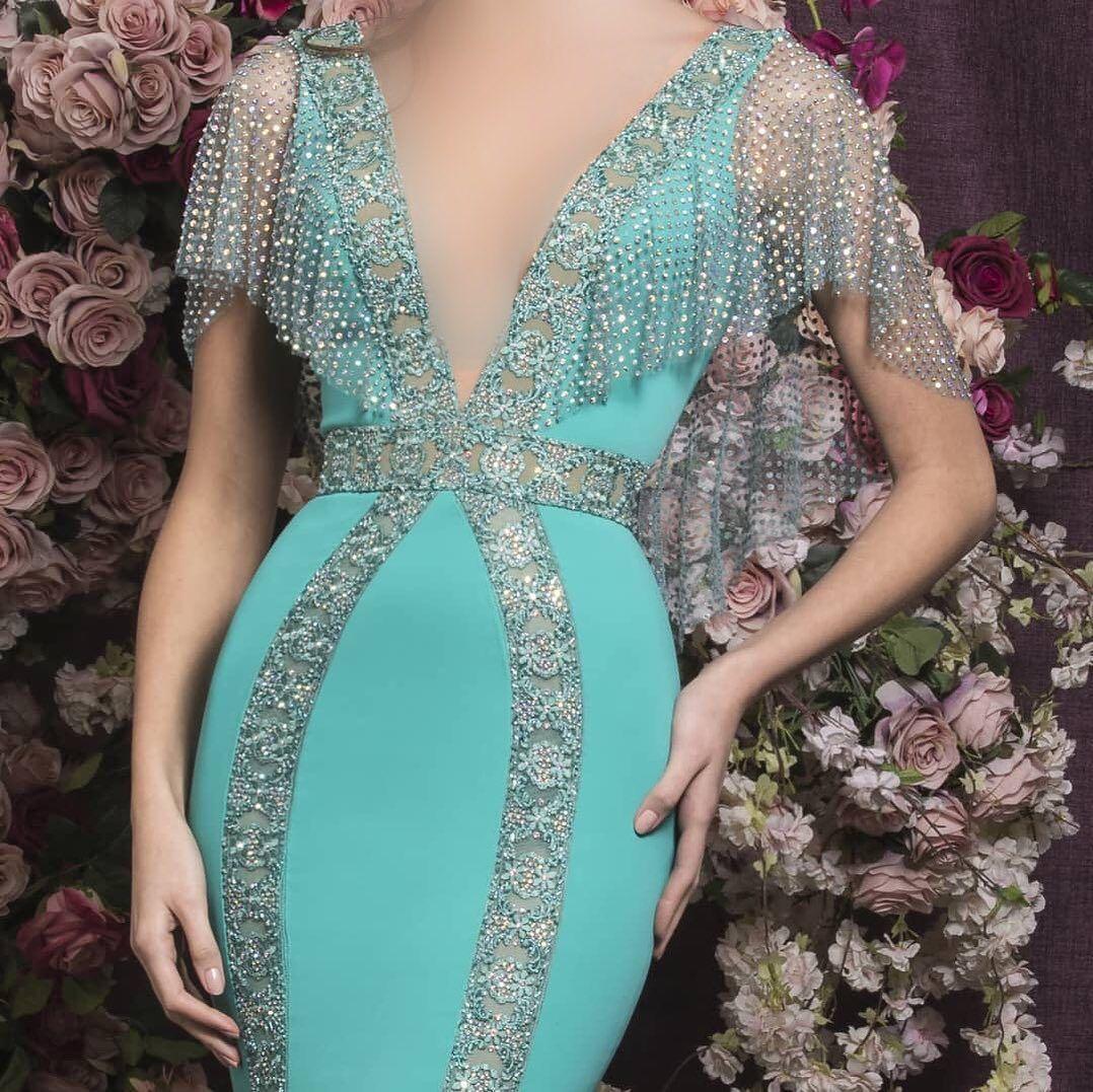 فستان فخم وأنيق Reemfashion17 فساتين راقية فساتين اعراس فساتين زفاف فساتين فستان سهره فسات Sleeveless Formal Dress Formal Dresses Long Dresses