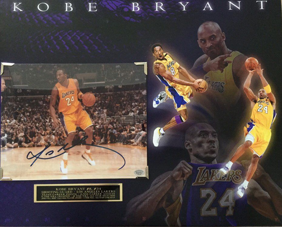 425050c4006e Excited to share the latest addition to my  etsy shop  Los Angeles Lakers  legend Kobe Bryant signed autographed 8x10 photo (with COA) on an  absolutely ...