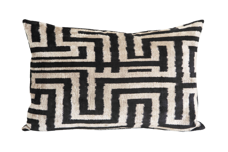 black beige african zebra silk velvet throw pillow cover etsy etsy pillow covers velvet decorative pillow velvet throw pillows