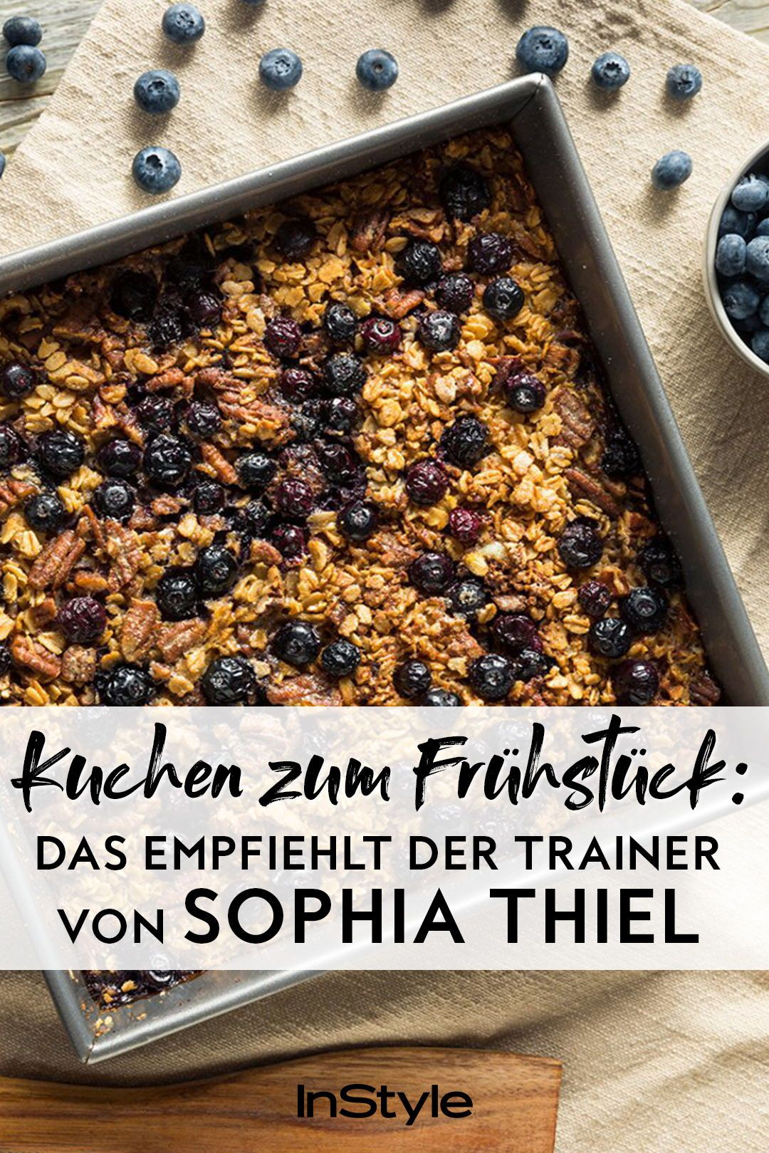 Diät: Diesen Kuchen empfiehlt der Trainer von Sophia Thiel zum Frühstück – wir haben das Rezept