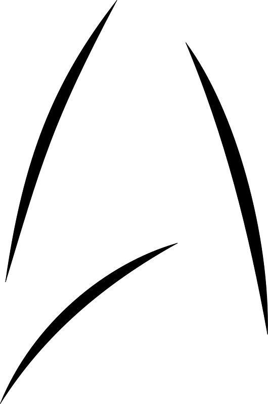 star trek beyond starfleet logo as seen on captain kirk s mug rh pinterest co uk star trek enterprise logo vector star trek free vector