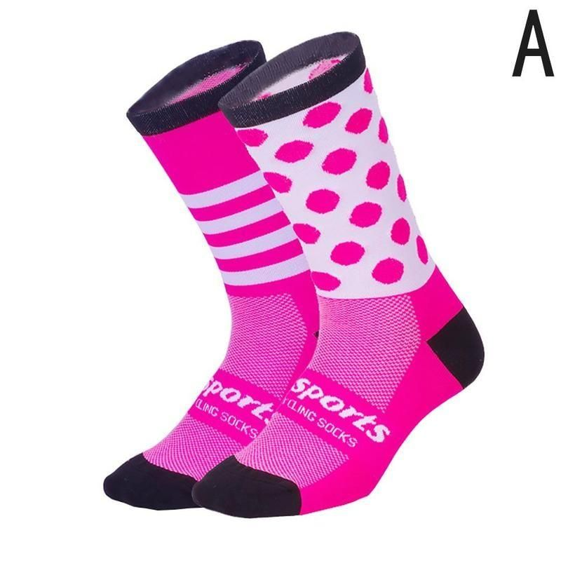 Men Women Outdoor Sports Racing Cycling Socks Professional Breathable Bike Socks