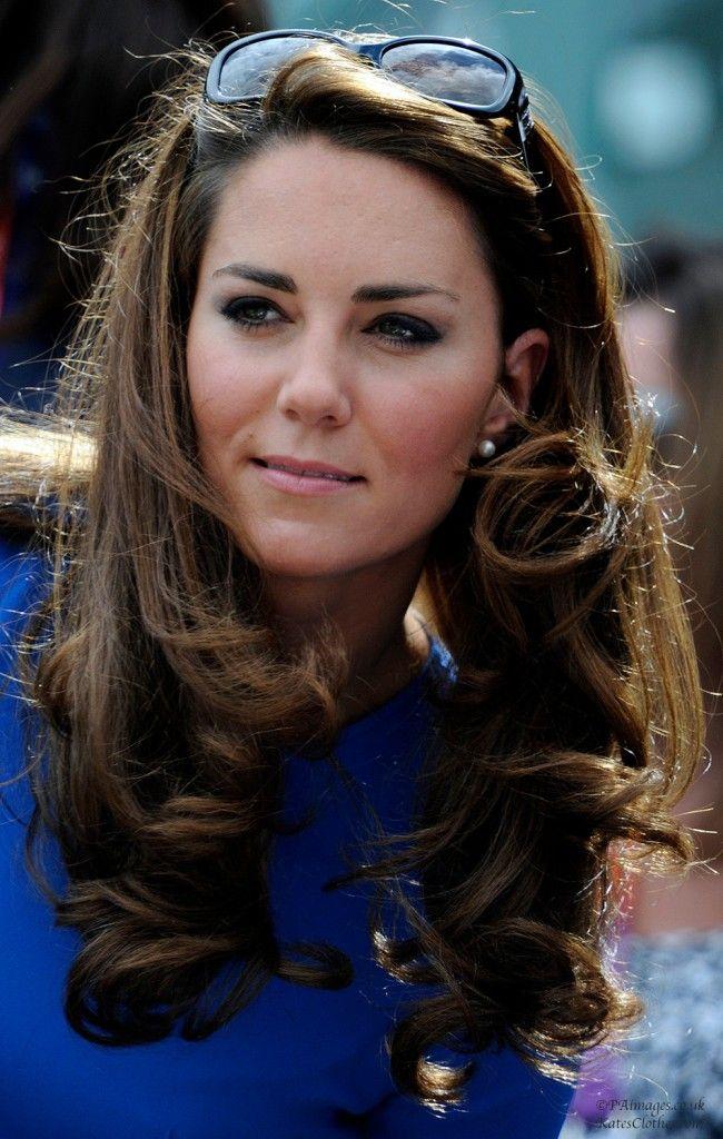 Olympics: Tennis at Wimbledon   Kate's Clothes