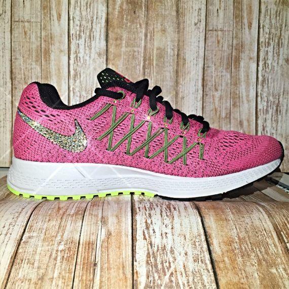 Women s bling Nike Pegasus 32 bling nike shoes by LoveWhimsyArt ... b70be7778