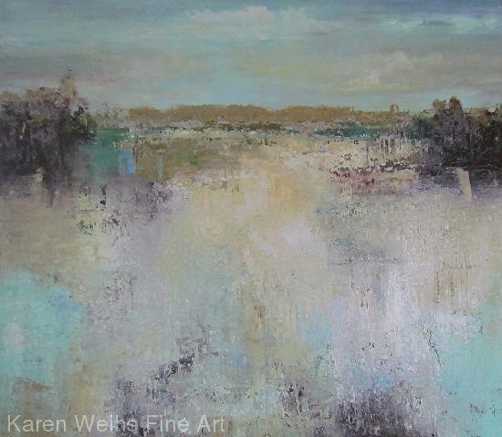 High Water by Karen Weihs Oil ~ 40 x 45