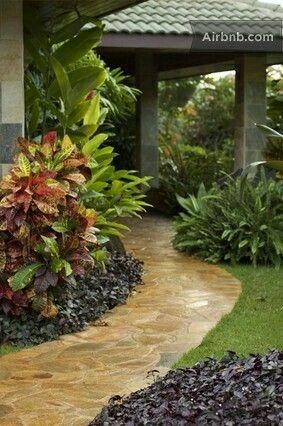 Pin by oxana on gardens | Pinterest | Gardens, Tropical garden and ...