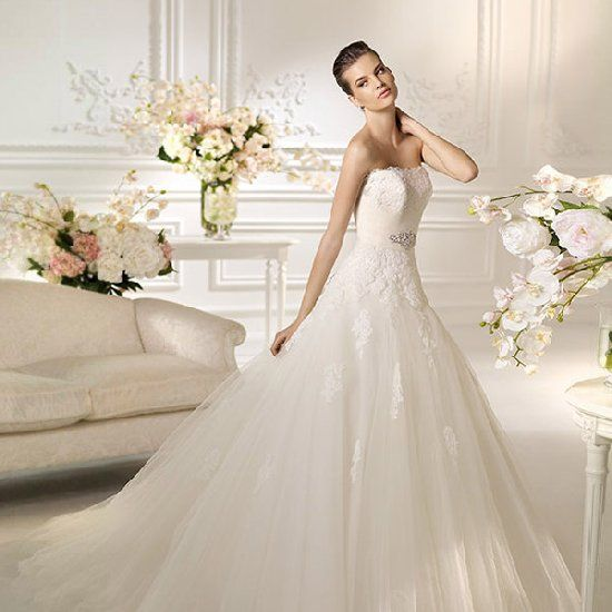 Elegant wedding dresses we love from White One bridal collection.
