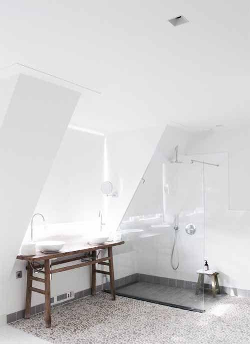 Waschbecken Unter Dem Fenster Mit Dachschräge