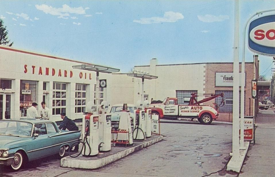 Standard Oil Gas Station, Parma, Ohio http ...